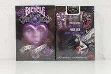 """Bicycle Deck Poker Spielkarten """"Anne Stokes-Dark Hearts"""" Premium Playing Cards"""