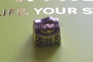 NEW; Genuine Chamilia Purse 14K Gold & Sterling Silver Charm