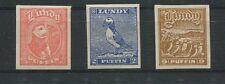 GB UK LUNDY LOKALPOST 1929 BIRDS PUFFIN PUFFINS VÖGEL PAPAGEIENTAUCHER m0015