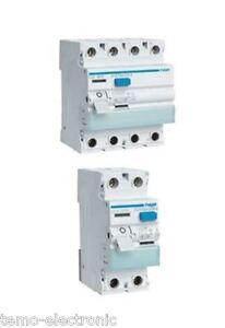 Hager FI Fehlerstromschutzschalter 2/4-polig - 0,3 / 0,03A - CDA/CFA wählbar