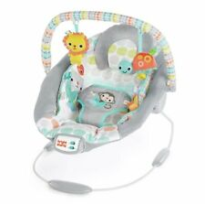 Cradling Bouncer Squirm-Proof 7 Melodies with Non-slip Feet Whimsical Wild