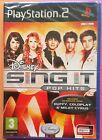 DISNEY SING IT POP HITS PS2 SOLUS GAME new & SONY sealed UK COLDPLAY; TAYLOR etc