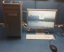 "Apple Mac Pro 1,1 - ( 2006)~2.66/32GB/120 SSD~20"" CINEMA~TURNKEY"