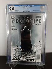 Detective Comics #871 CGC 9.0 (DC, 2011) RARE Newsstand Variant