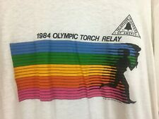 Vintage Levi's 1984 Olympic Torch Relay Shirt Graphic Tee