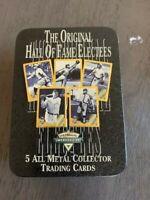 Avon 1936 Hall of Fame Collector Card Set w/ Tin
