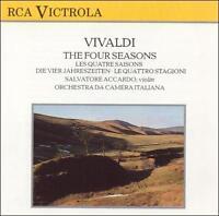 Vivaldi: The Four Seasons (CD, Oct-1990, RCA)