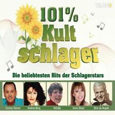 Kult Schlager 101% - Die beliebtesten Hits der Schlagerstars-Sampler 3CD NEU OVP