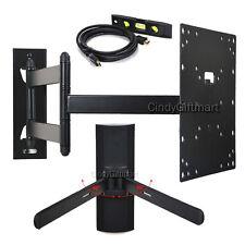"""LCD LED TV Monitor Wall Mount Swivel Tilt 24 26 32 39 40 42"""" w/ DVD Bracket CY7"""