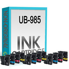 12 Ink Cartridge Replace For LC985 DCP-J125 DCP-J140W DCP-J315W DCP-J515W