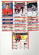 1X CHICAGO BLACKHAWKS 1990-91 Score COMPLETE TEAM SET Bulk Lot Available Roenick