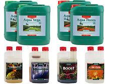 Canna Aqua Vega And Aqua Flores 5L Nutrient Kit