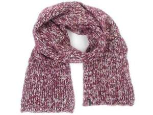 O'Neill Knit Scarf Bully Wine Red Knitted Mottled