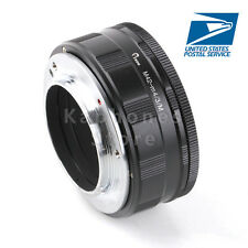 US Camera Adjustable Macro Infinity Adapter Tube For M42 Lens to Micro 4/3 m43