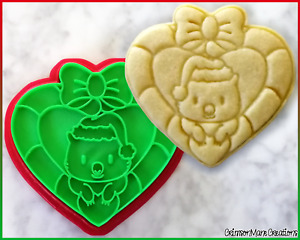 Wombat Christmas Cookie Cutter Australian Animals Baking Supplies Fondant Tool