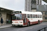 PHOTO Yelloway, Rochdale Leyland Nat XEH249M at Halifax in 1988