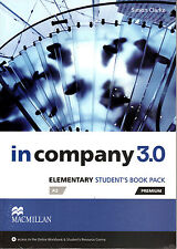 In Company 3.0 Elementary A2 Premium Student's Book Pack with Online Access @NEW