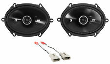 """New listing Kicker 6x8"""" Rear Factory Speaker Replacement Kit+Harness For 1999-03 Ford F-150"""