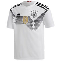 New Adidas Mens Football Germany White '18 World Cup Home Fan Jersey Shirt L