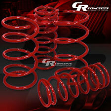 "FOR 95-99 NISSAN MAXIMA A32 COIL SUSPENSION RED RACE LOWERING SPRINGS 2"" DROP"