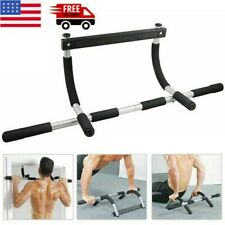 Heavy Duty Doorway Chin Up Pull Up Bar Multi-Function Home Gym Workout Fitness