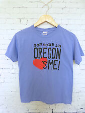 Someone Loves me in Oregon Childrens T-Shirt Size L  Womens XS