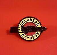 Futurama Pin Back2Future Mashup Delorean Express Enamel Metal Brooch Lapel Badge