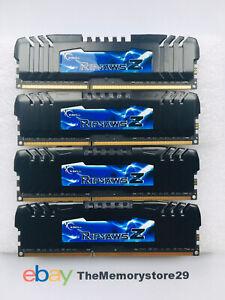 16GB 4 X 4GB G.Skill Ripjaws Z DDR3 Memory 1600MHz PC3-12800 DIMM Non ECC 240pin