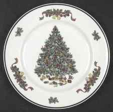 """SET 2 JOHNSON BROS VICTORIAN CHRISTMAS DINNER PLATE 10 1/4"""" MADE IN ENGLAND"""