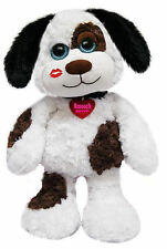 "Buster Smooch Pooch 14"" Stuffed Animal by First & Main V3855 3+ Boys & Girls"