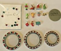 Authentic Origami Owl Grinch Christmas Charms FREE SHIPPING BUY 4 SAVE $2