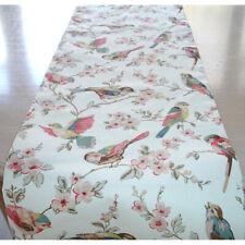 """4ft Table Runner Birds Cath Kidston 48"""" British 120cm Garden Bird Kitchen Coffee"""