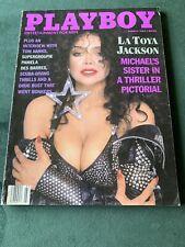 Playboy March 1989 / LaToya Jackson / Tom Hanks & Fred Dryer Interview