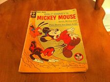 Vintage 1965 Walt Disney MICKEY MOUSE  #102 Goofy Pluto Giant Ants Comic Book