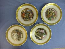 4 Royal Copenhagen Hans Christian Andersen Plates ~ Fairytales Collector Plates
