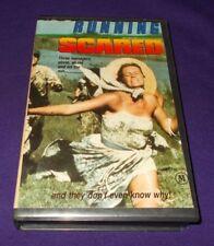 RUNNING SCARED VHS PAL 1980 JUDGE REYNOLD