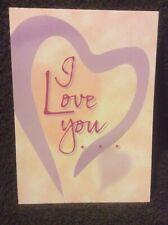 """ I Love You"" Greeting Card - NOS"