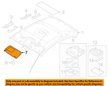 HYUNDAI OEM 11-13 Elantra Sunvisor-Sun Visor Left 852103X060TX