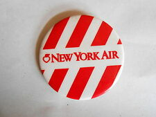 Vintage New York Air Airlines Unaccompanied Minor Child Pinback Button