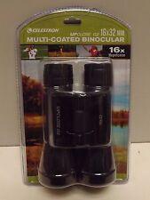 New/Sealed! Celestron Upclose G2  16x32 mm Multi Coated Binoculars 16x Mag