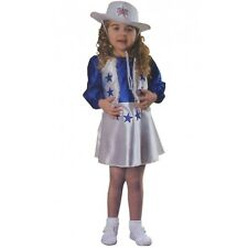 Dallas Cowboy Cheerleader Costume Toddler Kids Halloween Fancy Dress