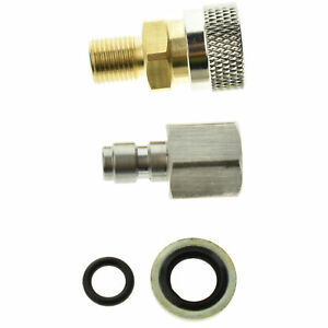 1/8 BSPP PCP Paintball Quick Release Disconnect Coupler Socket Adapter Connector