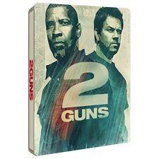 2 GUNS blu ray Steelbook ( NEW )