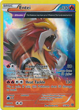 Entei FULL ART 15/98 XY Ancient Origins HOLO PERFECT MINT! Pokemon