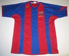 Vintage FCB FC Barcelona Football Club Jersey Adult XL XLarge Soccer Futbol