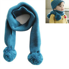 Fashion Baby Boy's Girl's Scarf Winter Warmer Knitting Warmer Scarves Neck Scarf