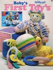 BABY'S First TOYS to Crochet The Needlecraft Shop 89T5 Stuffed Animals Blocks