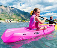 Ocean Kayak Lake Recreational Kids Youth Sit In 6 Foot Small Seat Pink New Gear