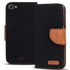 Schutzhülle Wiko Pulp Fab 4G Hülle Flip Case Handy Tasche Klapphülle Cover Etui