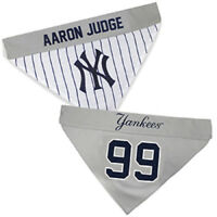 Aaron Judge #99 MLBPA Licensed Pets First Dog Pet Reversible Bandana 2 Sizes